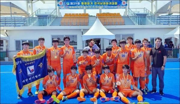 조선대 하키, 협회장기 전국남녀대회 우승… 시즌 2관왕