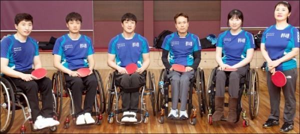 광주광역시청 장애인탁구팀 6명 전원 국가대표 확정