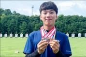 조선대 양궁 이진용 메달 5개 획득.. 혼성단체전 '金'